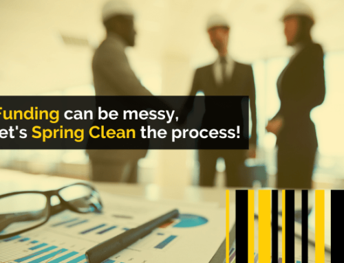 Funding can be messy, let's Spring Clean the process!